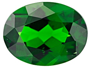 1.50ct min wt. Chrome Diopside 9x7mm Oval