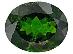 Chrome Diopside 12x10mm Oval 4.67ct