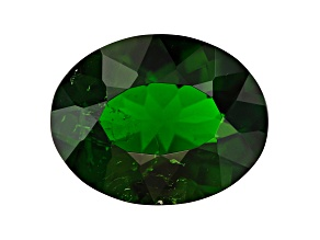 Chrome Diopside 9.9x7.75mm Oval 1.95ct