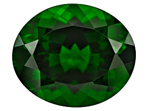 Chrome Diopside 12x10mm Oval 4.50ct