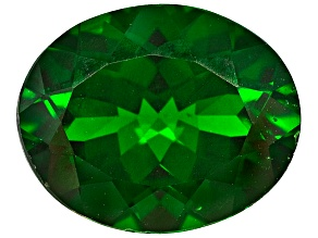 Chrome Diopside 10x8mm Oval 2.25ct