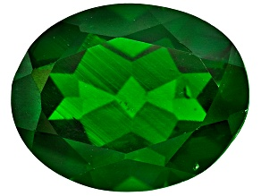 Chrome Diopside 9x7mm Oval 1.75ct