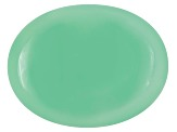 Green Calcite Oval Cabochon 20.00ct