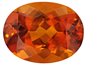 Madeira Citrine 16x12mm Oval 8.40ct