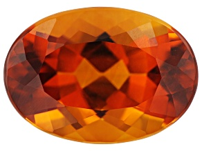Madeira Citrine 4.77ct 14x10mm Oval
