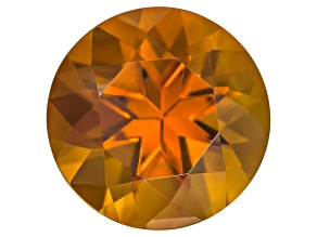 Citrine Madeira 8mm Round 1.50ct
