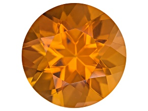 Citrine Madeira 7mm Round 1.00ct