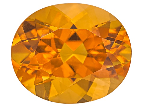 Citrine Madeira 12x10mm Oval 4.00ct