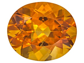 Citrine Madeira 14x12mm Oval 6.25ct