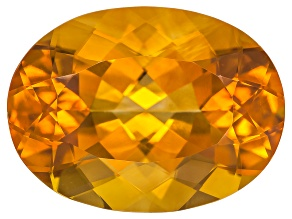 Citrine Madeira 16x12mm Oval 7.75ct