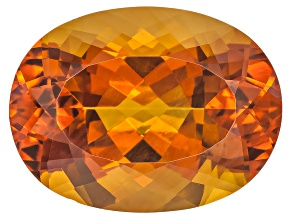 Citrine Madeira 20x15mm Oval 15.75ct