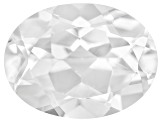 White Danburite 8x6mm Oval .80ct