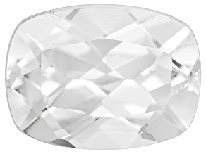 White Danburite 8x6mm Rectangular Cushion 1.00ct