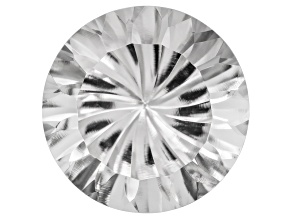 White Danburite 14mm Round 8.90ct