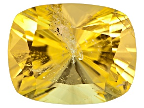 Yellow Danburite 14x11mm Rectangular Cushion 8.17ct