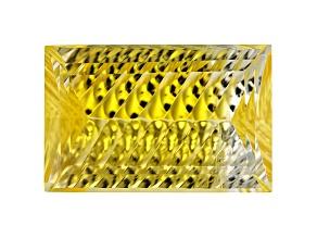 Yellow Danburite 17x11mm Rectangle Custom Cut 10.62ct
