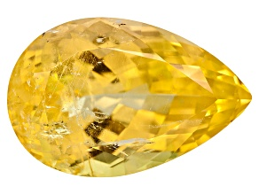 Yellow Danburite 19.5x13mm Pear Shape 15.29ct