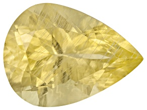 Tanzanian Canary Danburite Average 1.50ct 9x7mm Pear Shape