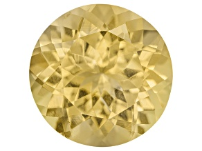Yellow Danburite 9mm Round 2.60ct