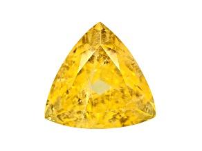 Yellow Danburite 14mm Trillion 10.44ct