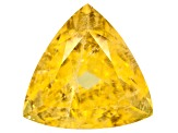 Yellow Danburite 14mm Trillion 10.44ct