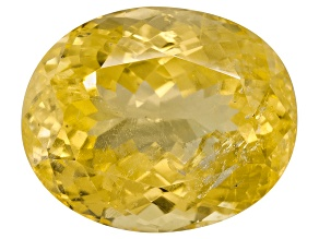 Yellow Danburite 16x13.5mm Oval 13.85ct