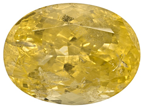 Yellow Danburite Oval 8.00ct