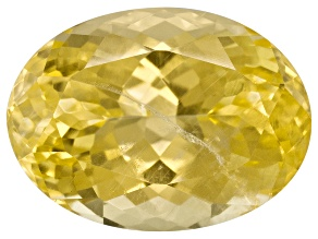 Yellow Danburite 13x9.5mm Oval 5.48ct