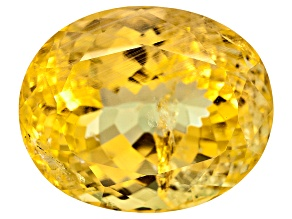 Yellow Danburite 14x11.5mm Oval 9.40ct