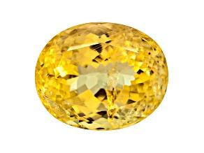 Yellow Danburite 14x11.5mm Oval 9.40ct