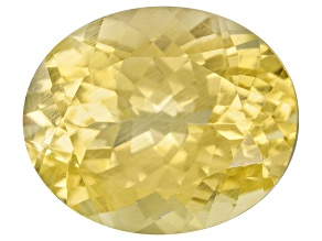 Yellow Danburite 11x9.5mm Oval 3.93ct