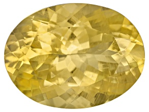 Yellow Danburite 11.5x9mm Oval 3.78ct