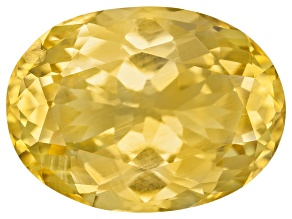 Yellow Danburite 13.5x10mm Oval 5.48ct