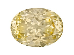 Yellow Danburite 14x10.5mm Oval 6.02ct