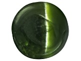Chrome Diopside Cats Eye Round Cabochon 2.00ct