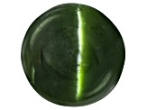 Chrome Diopside Cats Eye Round Cabochon 3.00ct