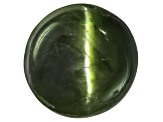 Chrome Diopside Cats Eye Round Cabochon 5.00ct