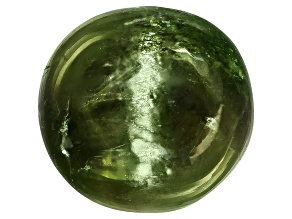 Chrome Diopside Cats Eye Round Cabochon 4.00ct
