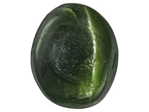 Chrome Diopside Cats Eye Oval Cabochon 3.00ct