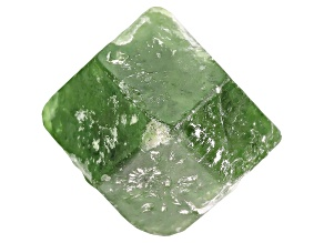 Garnet Demantoid 13.69x11.89ct Free Form Crystal 14.74ct