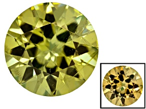 Demantoid Garnet Color Shift 4.5mm Round 0.35ct