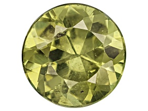 Garnet Demantoid 5.5mm Round .75ct