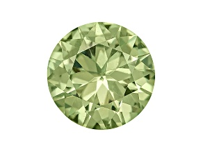Garnet Demantoid 4mm Round Diamond Cut .25ct