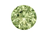 Demantoid Garnet 4mm Round 0.25ct