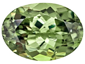 Demantoid Garnet 7.5x5.5mm Oval 1.35ct
