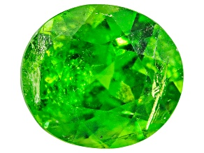 Demantoid Garnet Oval 0.50ct