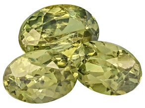 Garnet Demantoid 8x6mm And 6x4mm Oval Set 2.00ctw