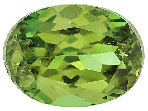 Garnet Demantoid 6x4.5mm Oval .60ct