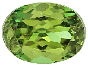 Demantoid Garnet 6x4.5mm Oval 0.60ct
