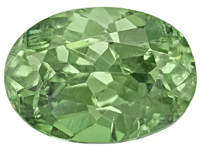 Demantoid Garnet 6x4.5mm Oval 0.70ct